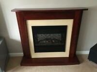 Fireplace with Electric Coal Effect Fire