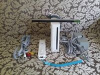Used UK Nintendo Wii Console Complete With All Cables Required