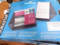 Unused Durable Durastar Table Top Presenter/Flipchart - A3 Landscape 856939