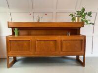 Vintage Teak McIntosh Forfar Sideboard / Highboard Danish
