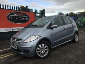 2007 07 Mercedes Benz A Class 2.0 A180 CDI Elegance SE 5 Door 6 Speed Manual Turbo Diesel