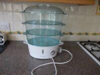 Russell Hobbs food steamer as new