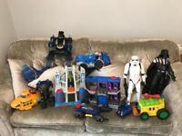 Toy bundle mostly batman