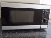 Microwave Oven. Tesco, as new