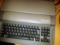 Sharp word processor,
