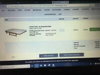 futon mattress with waterproof cover ad red cover from Futon Company