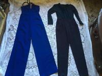 Asos Ladies 2 Jumpsuit Size UK 8 Overalls Used V,good condition £18