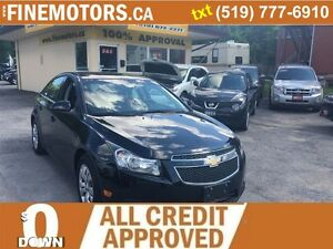 2012 Chevrolet Cruze LT Turbo w/1SA/LOW KM/GREAT ON GAS