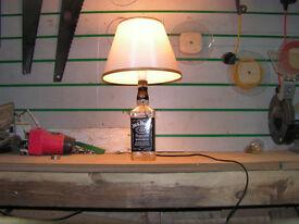 Jack Daniels Bottle Lamp