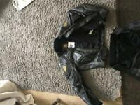 J and s 2 pice Moto bike leathers for sale  Coventry, West Midlands