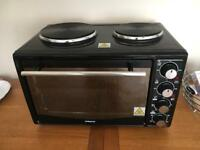 Table top oven and duel hob