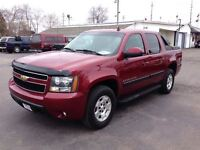 2007 Chevrolet Avalanche LT CREW 4X4 WITH POWER SUNROOF