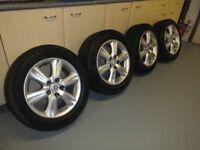 """Alloy wheels (16"""") for Lexus IS250 / IS220d & Winter tyres."""