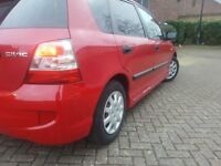 (MINT CONDITION RED CIVIC 2004 1.4 FSH MOT LOW MILEAGE £999 07474385541)
