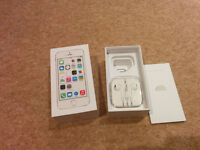 Iphone 5s box with original accessories incl headphones