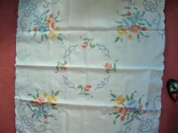 NEW - Pretty TABLECLOTH : CANARY ISLANDS