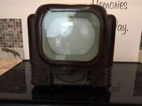 Tv old fashioned antique