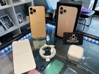Gold Apple Iphone 11 Pro 64GB Factory Unlocked To All Networks + Apple Warranty