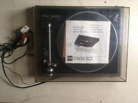 Dual cs 505 turntable