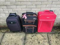 Three Cabin Cases for summer holidays