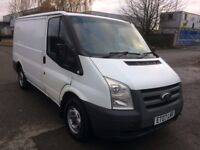 2007 07 FORD TRANSIT 2.2 TDCI T260 SWB LOW ROOF 85BHP FACELIFT FULL MOT FULLY VALETTED PX SWAPS