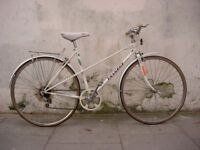 Ladies Mixte/ Commuter Bike by Peugeot, White, Very Good Condition!!! JUST SERVICED/CHEAP PRICE!!!!!