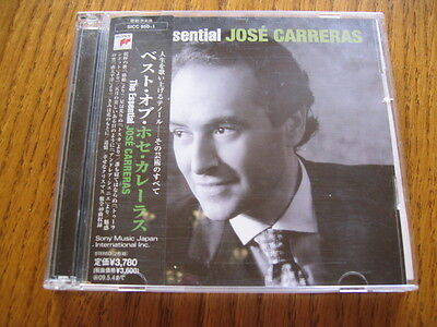 Jose Carreras The Essential 2 Japan CD segunda mano  Embacar hacia Argentina