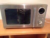 Daewoo stainless steel microwave
