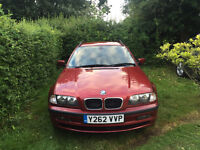 BMW 320d touring - 2001, 136HP Engine.