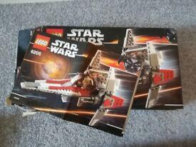 LEGO Star wars 6205 V wing fighter