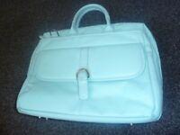 Luca Bocelli Business Laptop Work Bag – Pale Blue