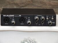 M-Audio Profire 610 6 in/10 out interface for MAC or PC