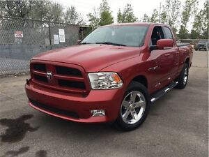 2010 Dodge Ram 1500 ST 4WD CLOTH & LEATHER INTERIOR SHORT BED