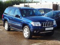 Jeep Grand Cherokee Overland Crd (blue) 2003