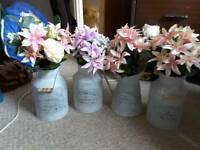 4x Floral arrangements for wedding