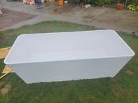 Freestanding stone bath Bagnodesign