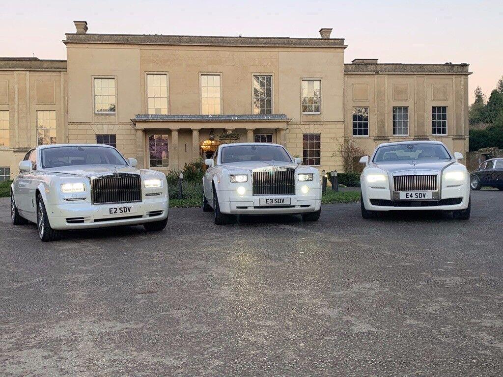 Rolls Royce Phantom Ghost For Hire Wedding Car Hire London