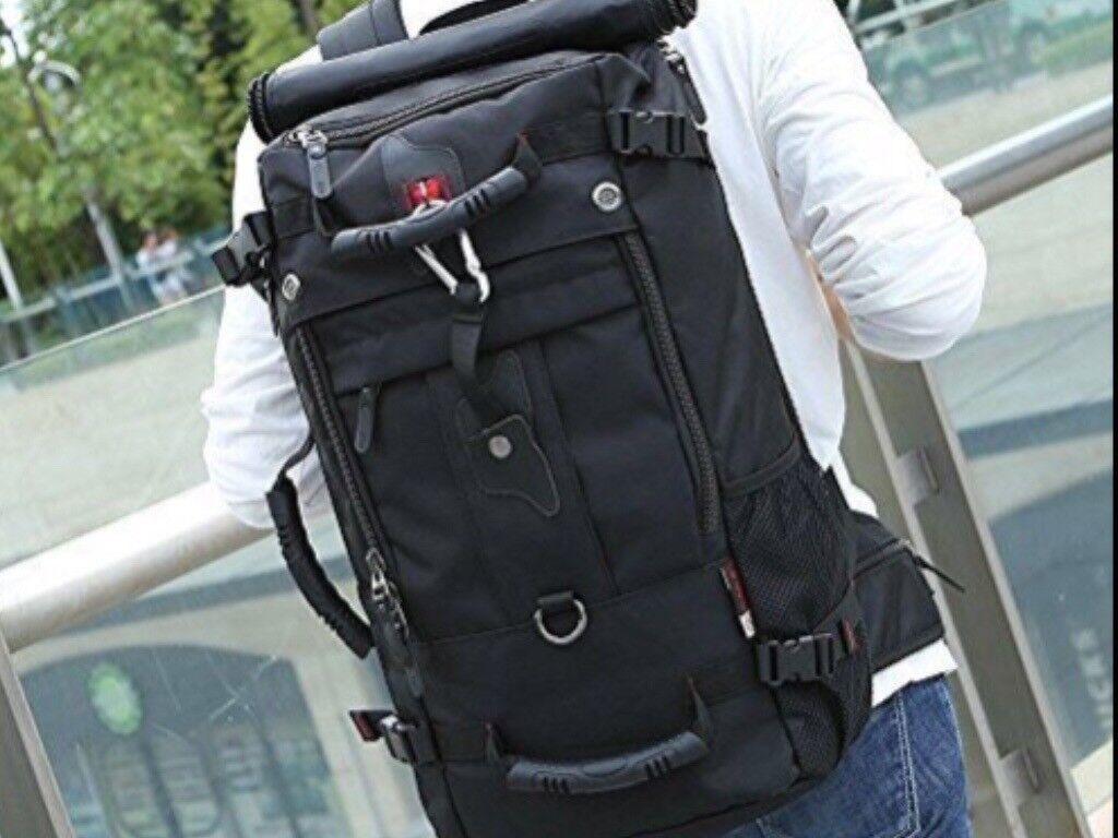 Kaka 45 litre Holdall rucksack new with lock