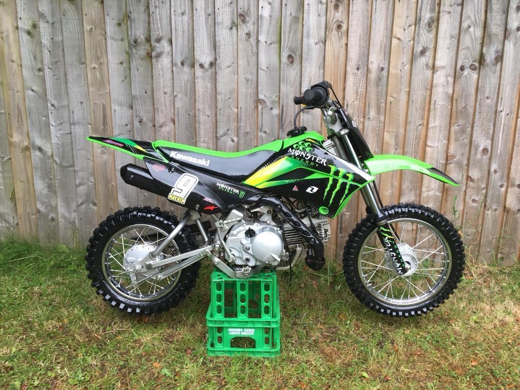 2018 Kawasaki KLX 110 KLX110 Original Plastics as spares ( KX 65  alternative ) | in Consett, County Durham | Gumtree