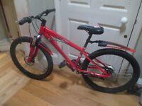 Shockwave Mountain Bike Red