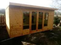 New high quality garden studio summer houses