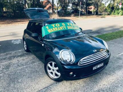 2008 Mini Cooper Hatch Auto LOW KS LOGBOOKS 2 Keys Mags Upgrade Sutherland Sutherland Area Preview
