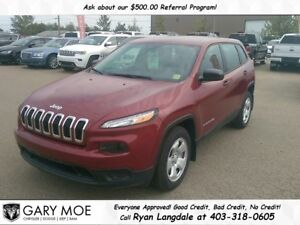 2017 Jeep Cherokee Sport **LIKE NEW**