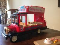 Sylvanian Families Traditional Red Country Double Decker Bus
