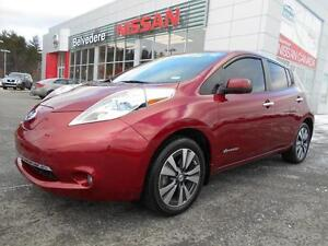 2015 Nissan Leaf SL NAVIGATION CUIR QUICK CHARGE CAMÉRA RECUL A/
