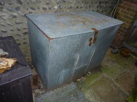 Coal Bunker - Large Galvanised