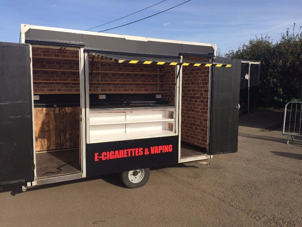 Mobile Shop Trailer Catering Exhibition