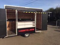 Mobile Shop Trailer Catering Exhibition