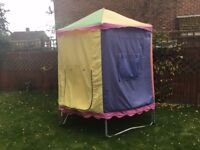 8 ft Trampoline with Enclosure and Tent