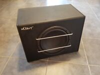 Mutant 10inch 500w Active Bass Subwoofer for Car (with Amp)